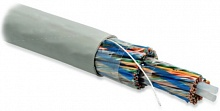Hyperline UUTP100-C5-S24-IN-PVC-GY(UTP100-C5-SOLID-INDOOR) Кабель витая пара