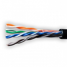 SUPRLAN 01-0338 Кабель Light UTP Cat.5e 4x2xAWG25 Cu PE Oudoor 305м